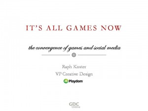 "Title slide for ""It's All Games Now"""