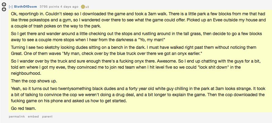 heartwarming story of 3m park camaraderie